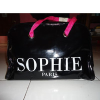 TAS SANTAI ASLI SOPHIE PARIS DISKON 30% PRUNE MEDIUM BAG MODERN CASUAL