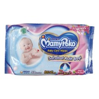 Tissue Basah Mamy Poko Baby Care Wipes Fragrance 52 lembar