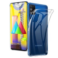 Slim TPU Case Samsung Galaxy M31 - Original Clear Soft Bening Cover