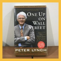 Buku Import One Up on Wall Street by Peter Lynch (Original Paperback)