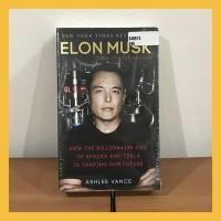 Buku Import Elon Musk by Ashlee Vance (Original Paperback)