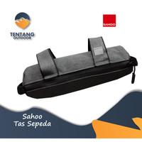 Tas Frame Sepeda Sahoo 112004 Bicycle Bag Cola Ice Pack Shark Bag Tube