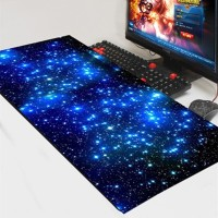 Mouse Pad XL Gaming Desk Mat Motif Starlight 300 x 600 mm