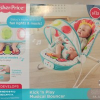 FISHER PRICE - Kick n Play Musical Bouncer
