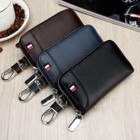 dompet gantungan kunci mobil motor car key bag kulit