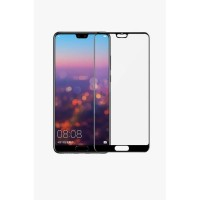 ANTI GORES TEMPERED GLASS FULL COVER HUAWEI P20 LITE P 20 LITE HITAM
