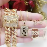 xuping set perhiasan lapis emas 24k 2526a