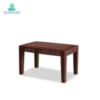 Meja kayu plastik ruang tamu meja kopi teras