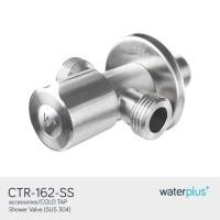 Kran Air Stainless / Stop Kran Double Waterplus - CTR 162 SS