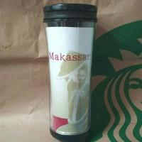 Starbucks Makassar Dancer Series Tumbler Grande 16oz