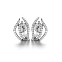 Lino and Sons - Anting Berlian F VVS ( Flaire Diamond Earring )