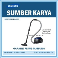 Vacuum Cleaner Samsung VC18M2120SB Canister with Cyclone Force - Blue