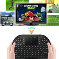Wireless Mini Keyboard & Touchpad untuk Android TV / Android TV Box