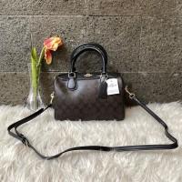 Tas handbag Coach Bennett bennet satchel Small in signature original