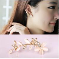 Anting Jepit Wanita B31 PETALS Korea Fashion Women Earring HIGH QUALIT