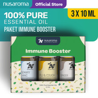 Nusaroma Immune Booster Kit Essential Oil - Paket isi 3 x 10ML