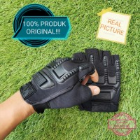 Sarung Tangan Motor Army Tactical Biker Gloves Militer Tebal
