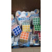 Rubik Magic Cube 3x3 Rubrik Mainan Edukasi Anak Puzzle