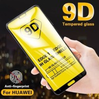 TEMPERED GLASS ANTI GORES FULL COVER HUAWEI P20 LITE FULL LEM GLUE