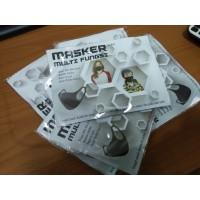 G37 kemasan kertas dan plastik masker scuba tahan air dan tiup lilin