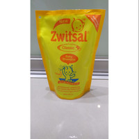 Zwitsal Classic Baby Shampoo Refill Pouch 450ml