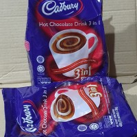 Cadbury hot chocolate drink( minuman serbuk coklat)