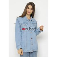 Basalt Jacket Jeans Wanita - Blue