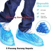 SHOES COVER / SARUNG SEPATU MURAH (5 PASANG)