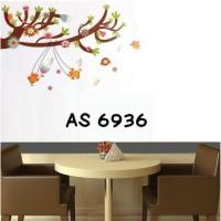 AS6936 PLAYING BIRD 60X90 wall sticker/ wallsticker 60x90