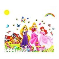AS6947 PRINCESS GROUP wall sticker/ wallsticker 60x90