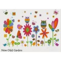 AS6935 NEW GARDEN wall sticker/ wallsticker 60x90