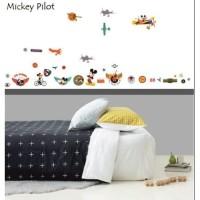 AS6943 MICKEY FLIGHT wall sticker/ wallsticker 60x90