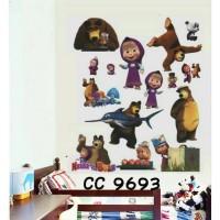 CC9693 MARSHA N BEAR wall sticker/ wallsticker 60x90