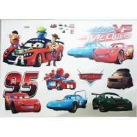 AL6093 KING MCQUEEN wall sticker/ wallsticker 60x90