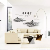 AM908 CHINESE WIND wall sticker/ wallsticker 60x90