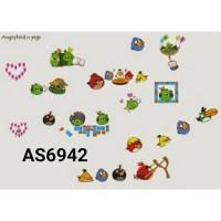 AS6942 ANGRYBIRD N PIGS wall sticker/ wallsticker 60x90