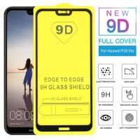 ANTI GORES KACA TEMPERED GLASS FULL COVER HUAWEI P20 LITE FULL LEM