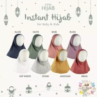 Little Palmerhaus Instant Hijab Size M (5-8 tahun) - Hijab Anak - PURPLE PLUM