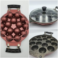 Cetakan kue Takoyaki Osaka Teflon 15 Lubang / Snackmaker ORIGINAL