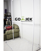 Green Screen Stand PVC ( New Size)