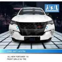 JSL Grill Depan All New Fortuner Model TRD Black Front Grille TRD