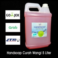 Sabun Cuci Tangan Handsoap Curah Murah 5 Liter/5L Wangi Apel Hand Soap