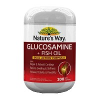 Nature's Natures Way Glucosamine Fish Oil Joint Nature Glukosamin 200