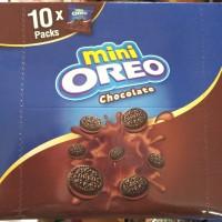 Oreo mini. Box isi 10 bks @ 20.4gr ( Vanilla/cokelat/strawberry)