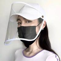 [Ready] Topi APD corona import ala korea anti virus face shield medis