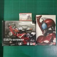 SHF SH Figuarts Kamen Rider Kabuto Renewal + Kabuto Zecter BIB + MISB