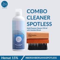 Sabun Cuci Sepatu Shoe Cleaner Spotless 250 ml + Sikat Standard Brush