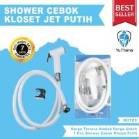 Shower Cebok Bidet jet shower murah semprotan toilet kloset Putih NM