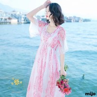 baju terusan dress maxi import premium bangkok A38