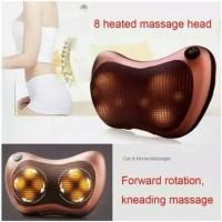 Bantal Pijat Shiatsu Mobil Car Heat Neck Massage Pillow infrared 02-01